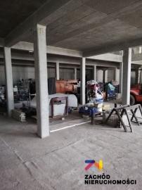 Budynek przemysłowy do wykończenia